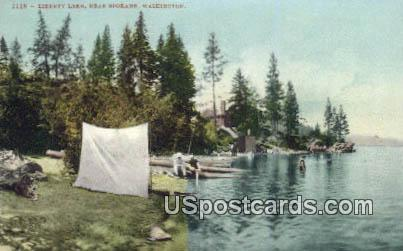 Liberty Lake - Spokane, Washington WA Postcard