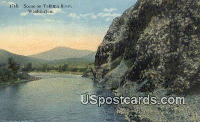 Yakima River, WA Postcard      ;      Yakima River, Washington