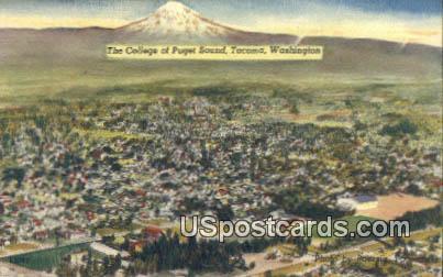 College of Puget Sound - Tacoma, Washington WA Postcard