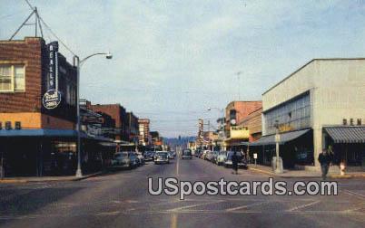 Puyallup, Washington Postcard     ;      Puyallup, WA