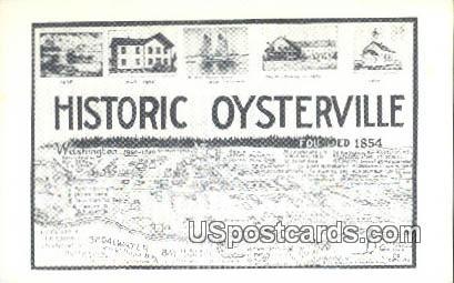 Oysterville, Washington Postcard     ;      Oysterville, WA