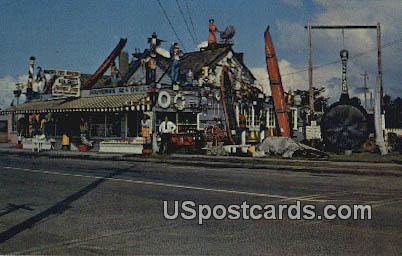 Marsh's Free Museum - Long Beach, Washington WA Postcard