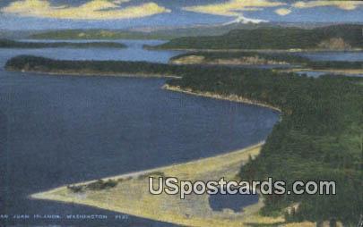 Archipelago - Evergreen Islands, Washington WA Postcard