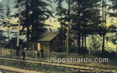 First House - Tacoma, Washington WA Postcard