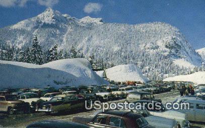 Snoqualmie Summit, Washington Postcard     ;      Snoqualmie Summit, WA