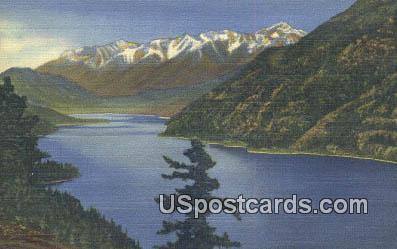 Lake Chelan, WA Postcard      ;      Lake Chelan, Washington