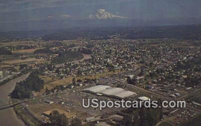 Hi Ho Shopping Center Inc - Puyallup, Washington WA Postcard
