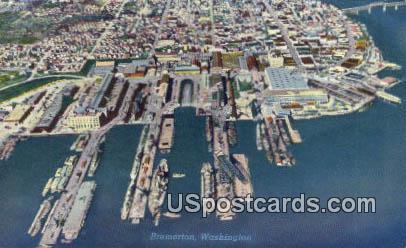 Bremerton, Washington Postcard     ;      Bremerton, WA
