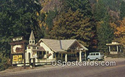 Gallery of the Alps - Leavenworth, Washington WA Postcard