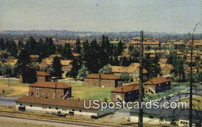 North Fort Lewis, Washington Postcard     ;      North Fort Lewis, WA