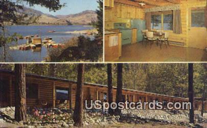 Norma & Virgil Stone's Report - Tonasket, Washington WA Postcard