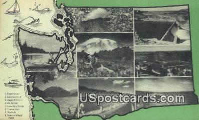 Washington State Junior Chamer of Commerce - Yakima Postcard