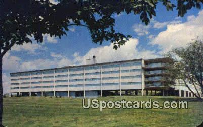 Regents Hall, WSC - Misc, Washington WA Postcard