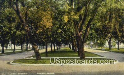 Naches Avenue - Yakima, Washington WA Postcard