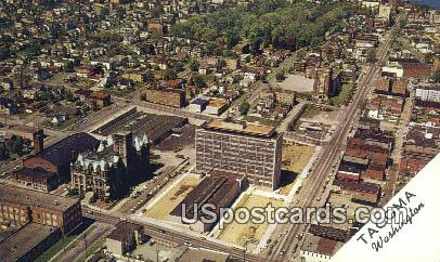 Pierce County Courthouse - Tacoma, Washington WA Postcard