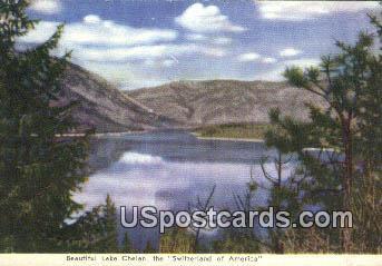 Lake Chelan, Washington Postcard     ;      Lake Chelan, WA
