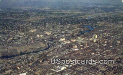 Empire City - Spokane, Washington WA Postcard