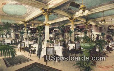 Dining Room, Spokane Great Restaurant - Washington WA Postcard