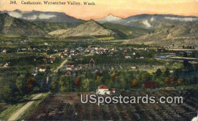 Cashmere - Wenatchee Valley, Washington WA Postcard