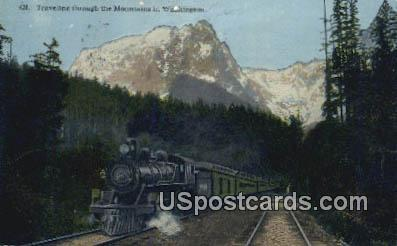 Misc, WA Postcard      ;      Misc, Washington