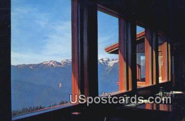 Olympic Mountains - Olympic National Park, Washington WA Postcard