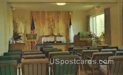 Memorial Chapel - Greenacres, Washington WA Postcard