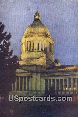 Capitol Building - Olympia, Washington WA Postcard