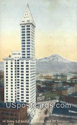 Story LC Smith Building - Seattle, Washington WA Postcard