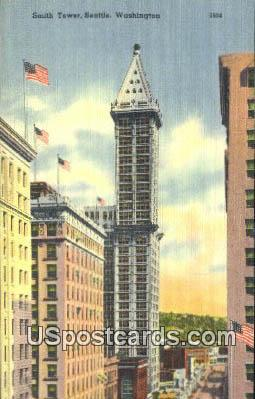 Smith Tower - Seattle, Washington WA Postcard