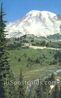 Mt. Rainier National Park, WA Postcard      ;      Mt. Rainier National Park, Washington
