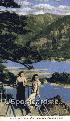 Columbia River, WA Postcard      ;      Columbia River, Washington