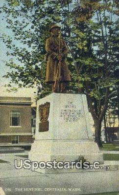 Sentinel - Centralia, Washington WA Postcard