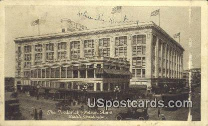 Frederick & Nelson - Seattle, Washington WA Postcard