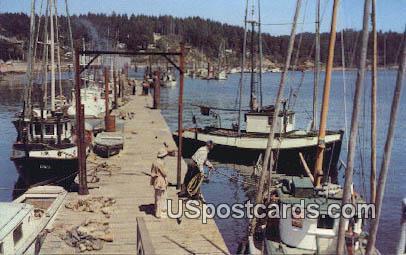 Pacific Ocean Fishing Fleet - Washington WA Postcard