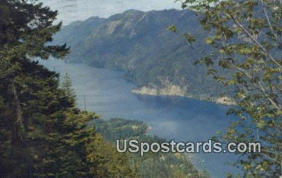 Lake Crescent, Washington Postcard     ;      Lake Crescent, WA