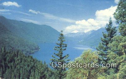 Lake Crescent, WA Postcard      ;      Lake Crescent, Washington