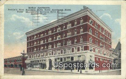 McKay Apartments - Seattle, Washington WA Postcard