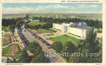 Art Museum - Volunteer Park, Washington WA Postcard
