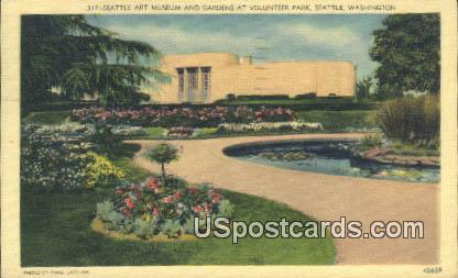 Seattle Art Museum - Washington WA Postcard