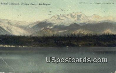 Mount Constance - Olympic Range, Washington WA Postcard