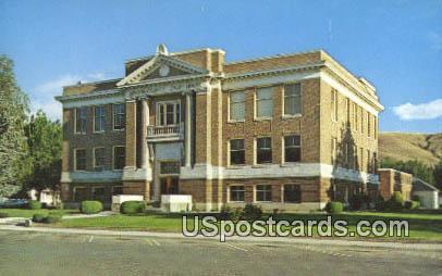 Benton County Courthouse - Prosser, Washington WA Postcard