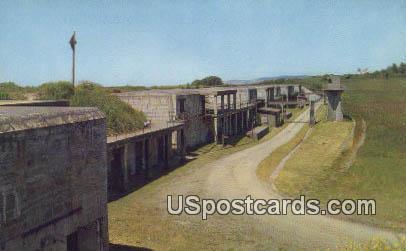 Gun Emplacements - Fort Casey Historical State Park, Washington WA Postcard