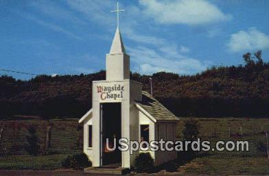 Wayside Chapel - Sultan, Washington WA Postcard