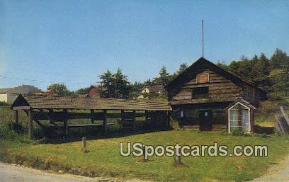 Alexander Blockhouse - Coupeville, Washington WA Postcard