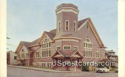 Brooklyn Avenue Baptist Church - Seattle, Washington WA Postcard