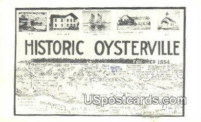 Oysterville, WA Postcard      ;      Oysterville, Washington