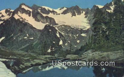 My Olympus - Humes Glacier, Washington WA Postcard