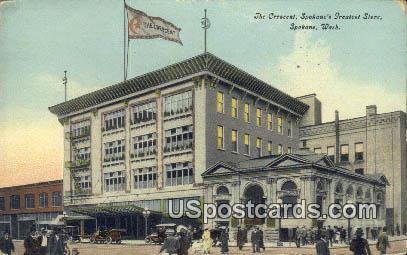 Crescent, Spokane's Greatest Store - Washington WA Postcard