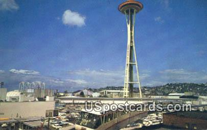 The Monorail - Seattle, Washington WA Postcard