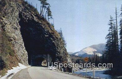 Stevens Pass Highway, WA Postcard      ;      Stevens Pass Highway, Washington